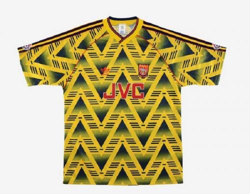Jersey tandang Arsenal 1991-1992