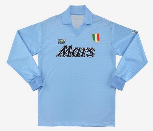 Jersey kandang Napoli 1990-1991