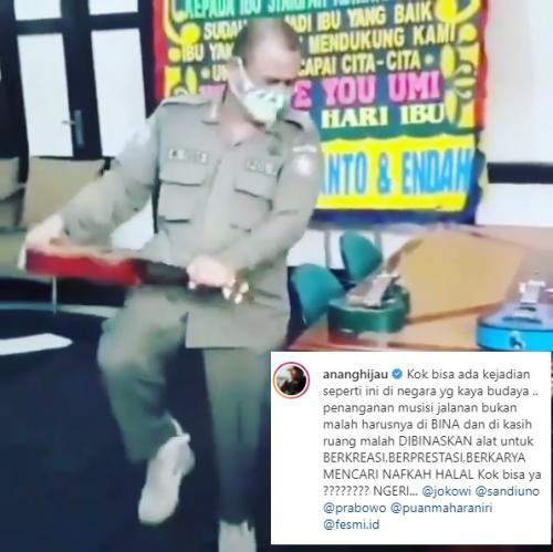 Anang Hermansyah. (Foto: Instagram/@ananghijau)
