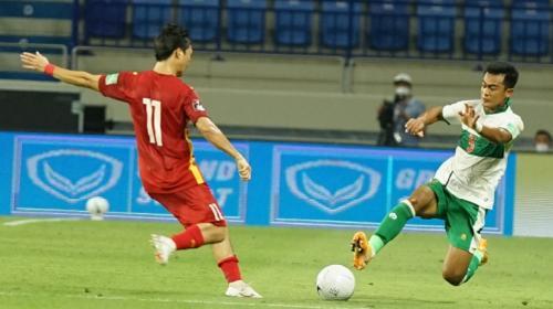 Timnas Indonesia vs Vietnam (Foto: Twitter/@PSSI)