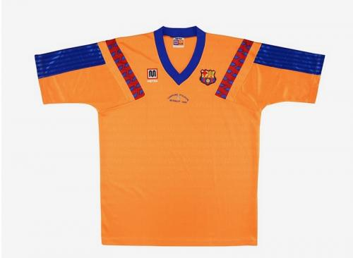 Jersey tandang Barcelona 1991-1992