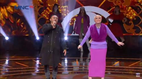 Judika di Panggung Rising Star Indonesia Dangdut