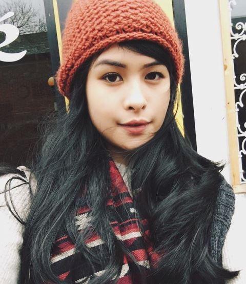 Maudy Ayunda beranjak remaja. (Foto: Instagram @maudyayunda)