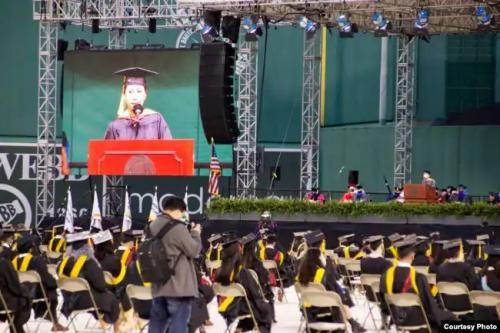 Perempuan asal Binjai jadi salah satu lulusan terbaik di universitas AS (Foto : Istimewa)