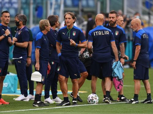 Timnas Italia (Foto: Reuters)