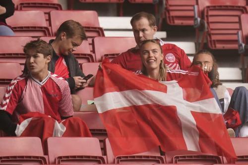 Fans Timnas Denmark