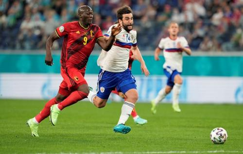 Timnas Belgia vs Rusia
