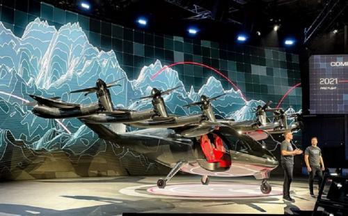 taksi terbang listrik