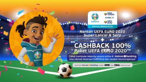 MVN menghadirkan seluruh partai yang dimainkan di Piala Eropa 2020