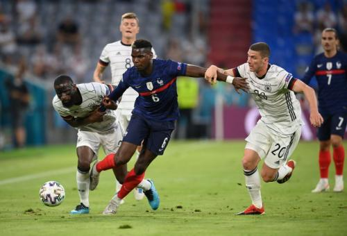 Timnas Prancis vs Jerman