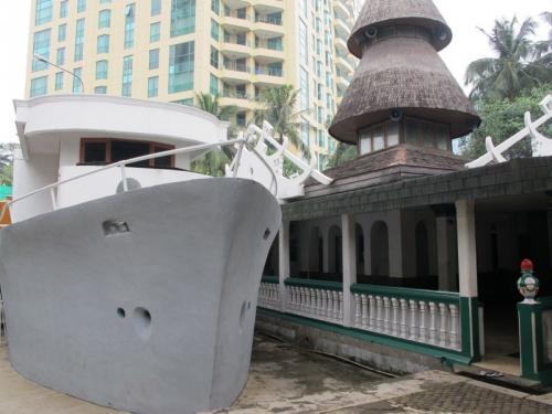 Masjid Agung Al Munada Darussalam.