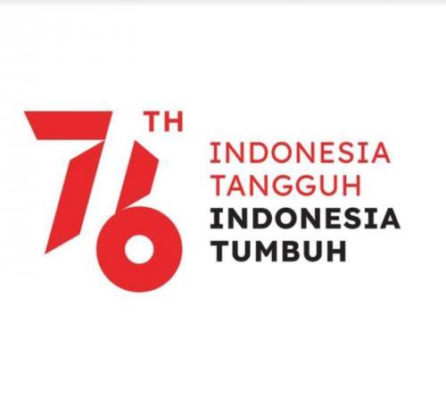 Logo HUT ke-76 RI