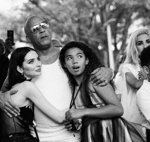 Vin Diesel, putrinya dan Meadow Walker