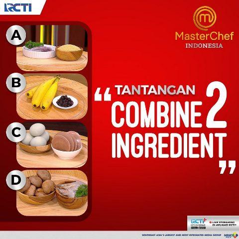 Tantangan combine 2 ingredient episode 7 MasterChef Indonesia Season 8. (Foto: Instagram @masterchefina)