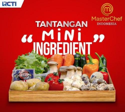 Mini ingredients challenge episode 7 MasterChef Indonesia Season 8. (Foto: Instagram @masterchefina)