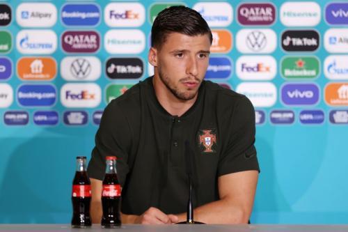 Ruben Dias tampil buruk di Piala Eropa 2020 (Foto: Reuters)