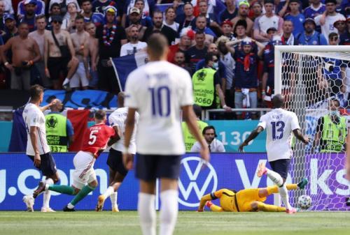 Timnas Hungaria vs Prancis