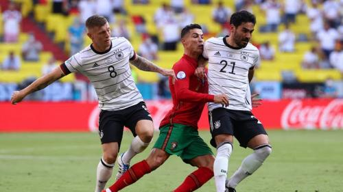 Timnas Portugal vs Jerman
