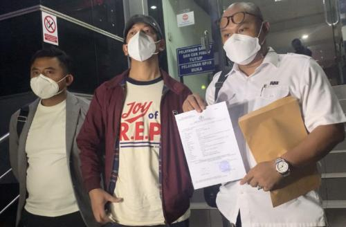 Rian D'Masiv dituding lakukan pelecehan seksual. (Foto: Okezone/Adiyoga Priambodo)