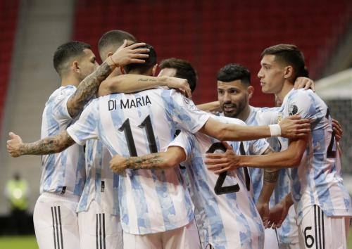 Timnas Argentina (Foto: Reuters)