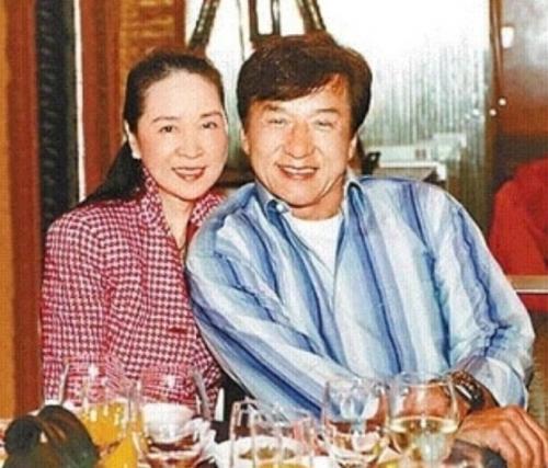 Jackie Chan dan Joan Lin. (Foto: Instagram/@jackiechan)
