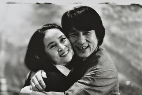 Jackie Chan dan Joan Lin. (Foto: Weibo/Jackie Chan)