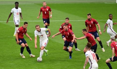 Timnas Inggris vs Republik Ceko