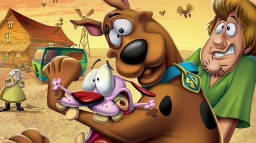 Scooby-doo dan Courage