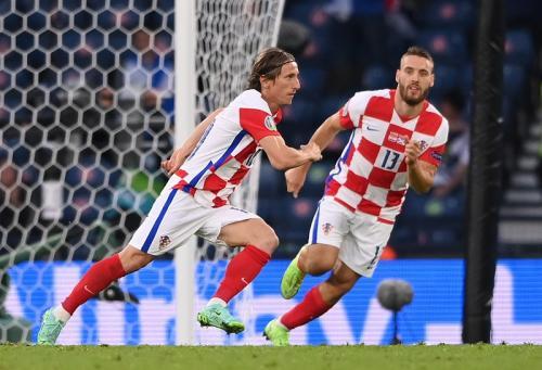 Timnas Kroasia vs Skotlandia