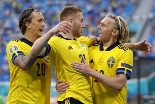 Timnas Swedia vs Polandia