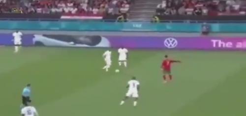 Momen Benzema nurut perintah Ronaldo di laga Portugal vs Prancis