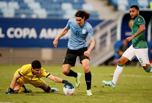 Hasil Copa America 2021: Cavani Sumbang Gol, Uruguay Menang 2-0 atas Bolivia  : Okezone Bola