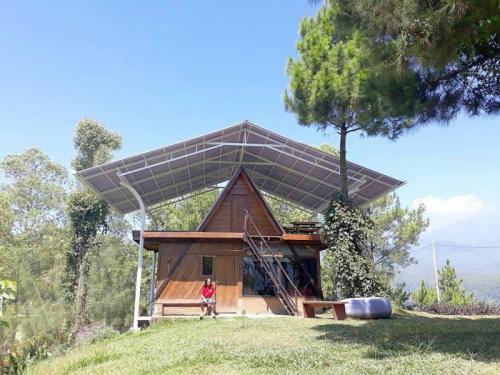 Homestay Unik di Batu Malang, Romantic Camp