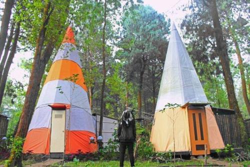 Homestay Unik di Batu Malang, Apache Camp