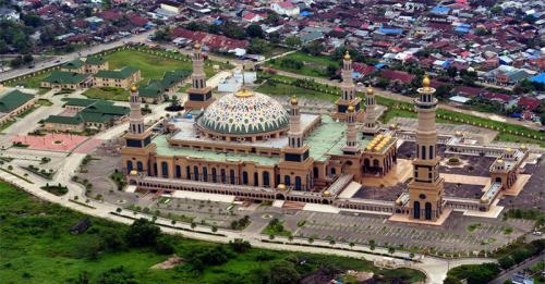 Masjid Islamic Center Samarinda. (Foto: Mister Aladin)