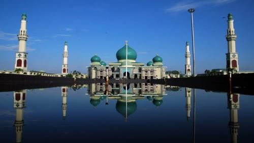 Masjid An-Nur Pekanbaru. (Foto: Travelingyuk.com)