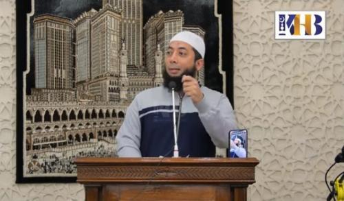 Ustadz Khalid Basalamah. (Foto: YouTube Khalid Basalamah Official)