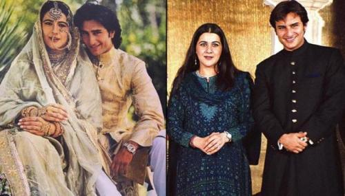 Amrita Singh dan Said Ali Khan.