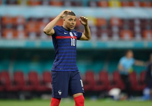 Kylian Mbappe tampil buruk di Piala Eropa 2020 (Foto: Reuters)