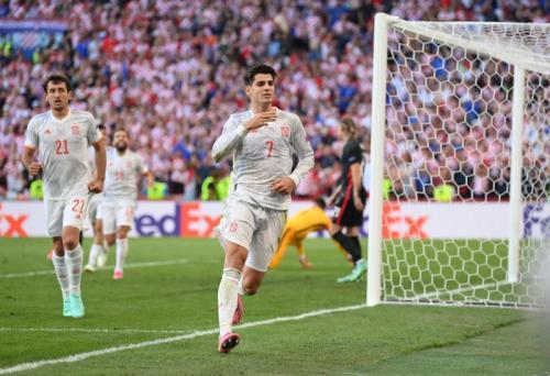 Kroasia vs Spanyol