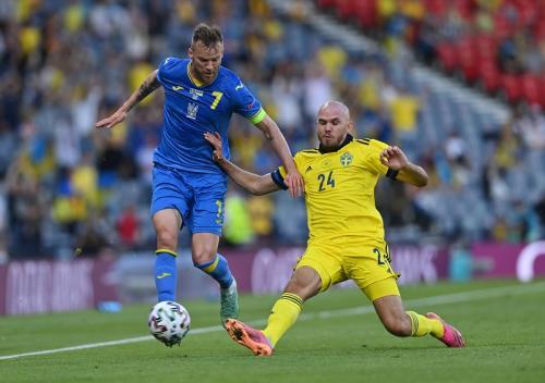 Timnas Swedia vs Ukraina