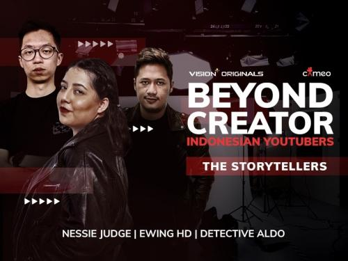 Episode 3 Beyond Creator: Indonesian YouTubers. (Foto: Vision+)