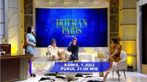 Denise Chariesta tampil di Hotman Paris Show.