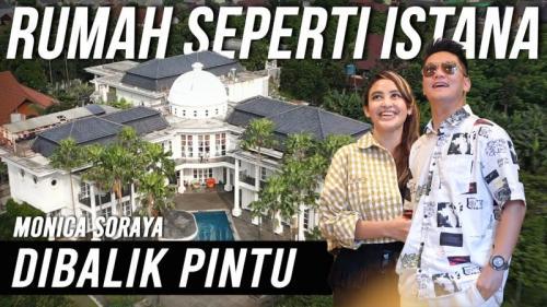 Rumah mewah carzy rich Jakarta Monica Soraya. (Foto: YouTube Boy William)