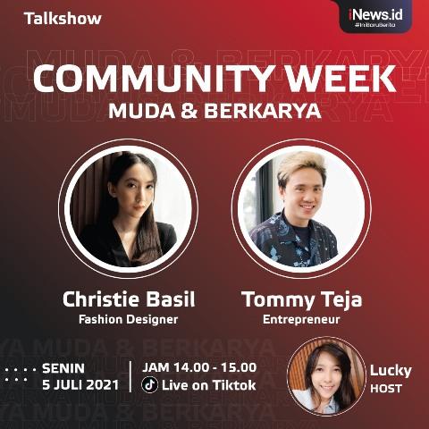 Community Week iNews.id Muda dan Berkarya. (Foto: iNews.id)