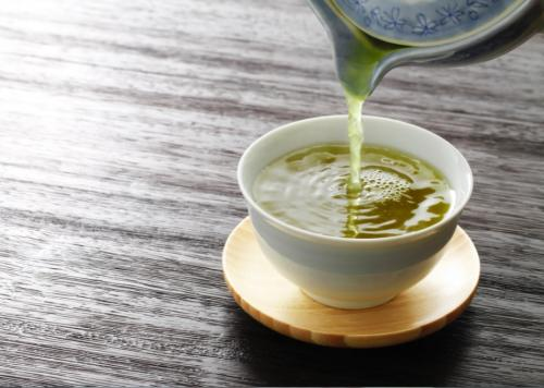 Ilustrasi teh herbal.