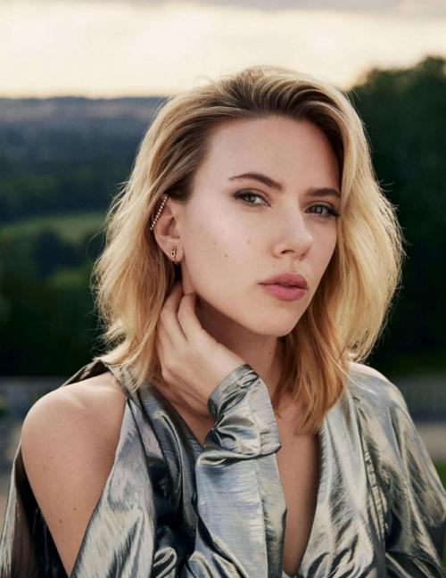 Scarlett Johansson. (Foto: Marie Claire)