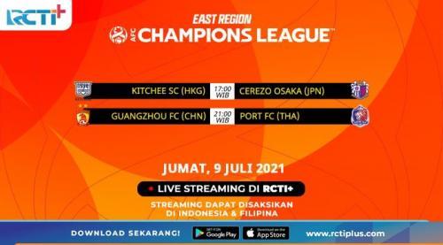 jadwal live streaming di RCTI+