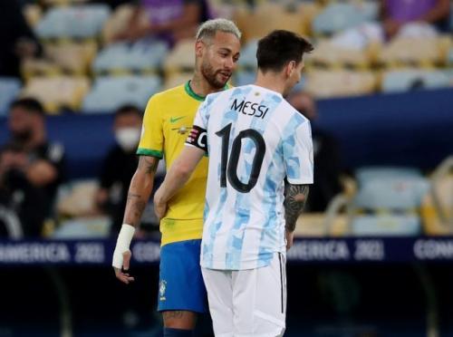 Neymar Jr dan Lionel Messi