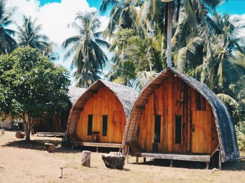 Desa Temajuk di Kalbar